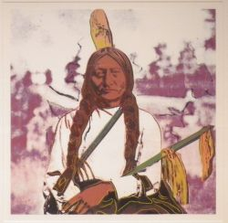 Andy Warhol - Sitting Bull
