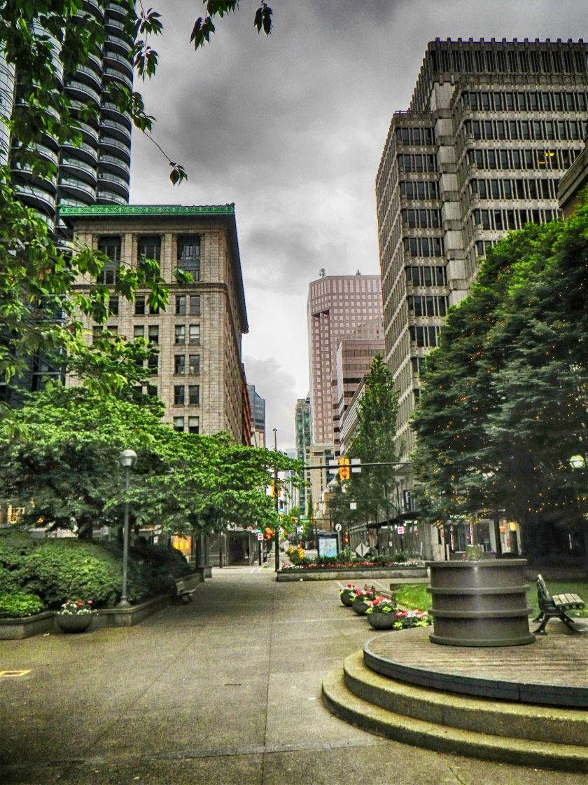 Downtown Vancouver HDR Deep 1