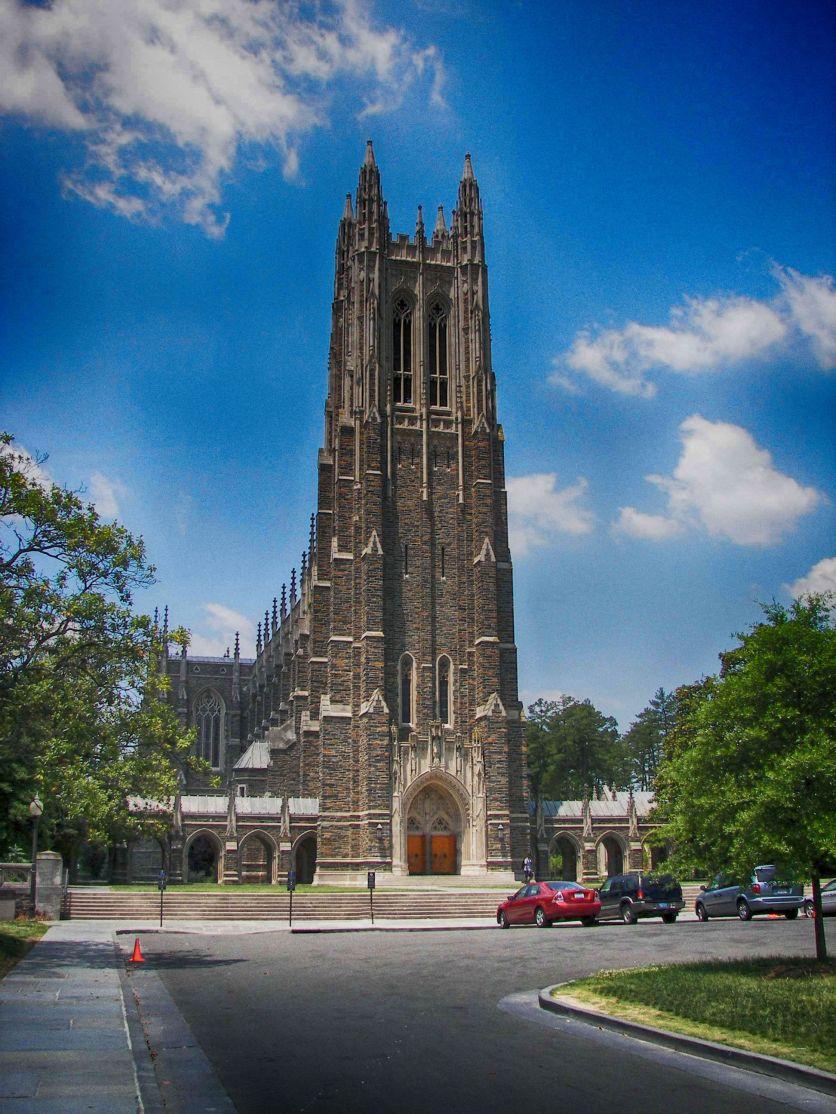 Duke Chapel Ektachrome 100 HDR Outdoor 1