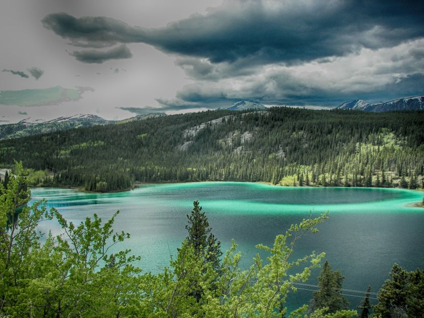 Emerald Lake HDR Outdoor 1