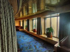 Hall outside Vista Lounge HDR Morning Sun