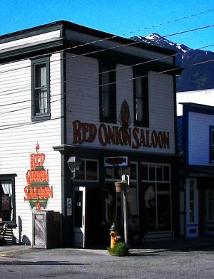 Red Onion Saloon Color Efx Kodak Ultra 100 Double Tone and Darken