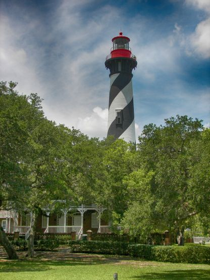 St Augustine Lighthouse HDR Efex Deep 2