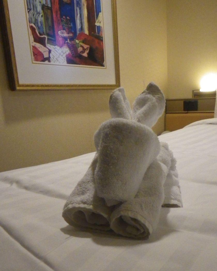 Towel Bunny