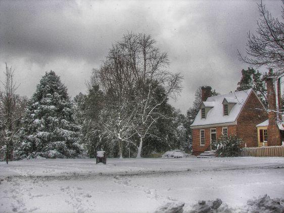 Williamsburg Snowstorm 2015 2 HDR Efex Pro Deep 2