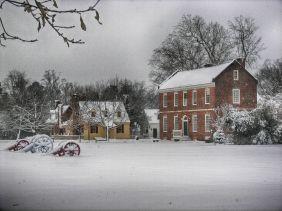 Williamsburg Snowstorm 2015 HDR Efex Pro Bright