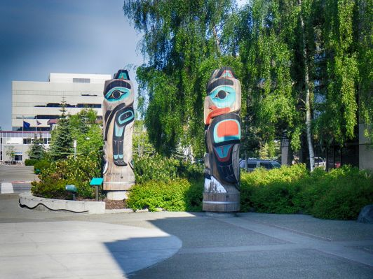 Anchorage Totems HDR Deep 2