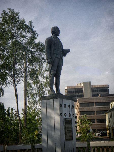 James Cook Monument CFX Big Sky Remove Line