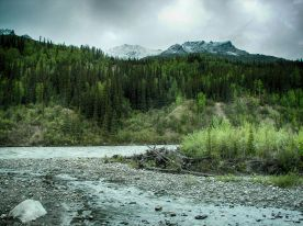 Nenana River HDR Deep 1