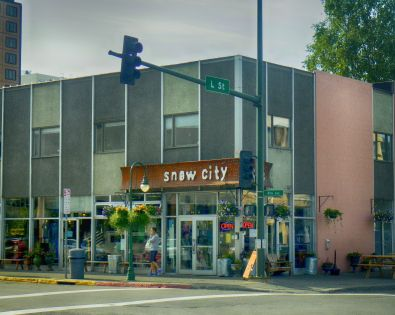 Snow City Cafe HDR Deep 2 and Color Efx Foliage
