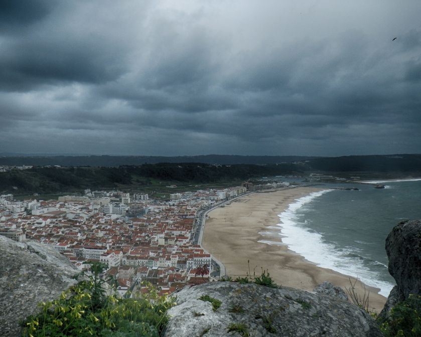 Nazare from Sitio