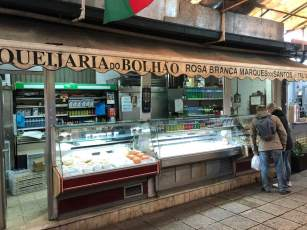Mercado de Bolhau Cheese Vendor
