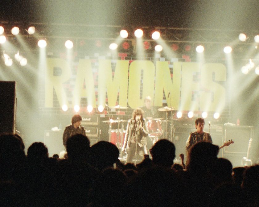 Ramones at the Strand Ektachrome 64pro