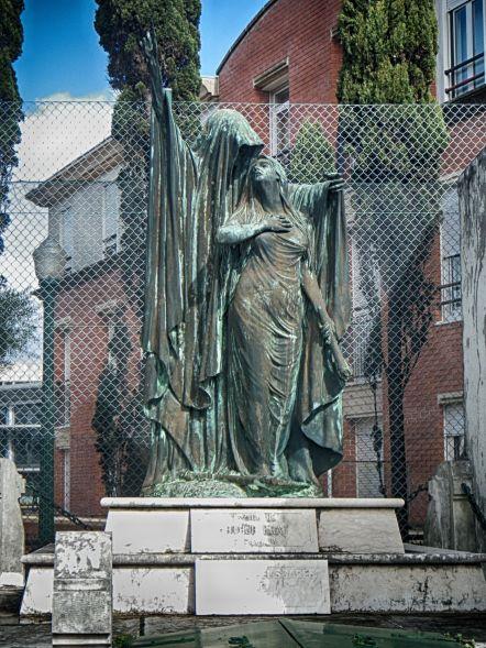 Statue in Cemetery