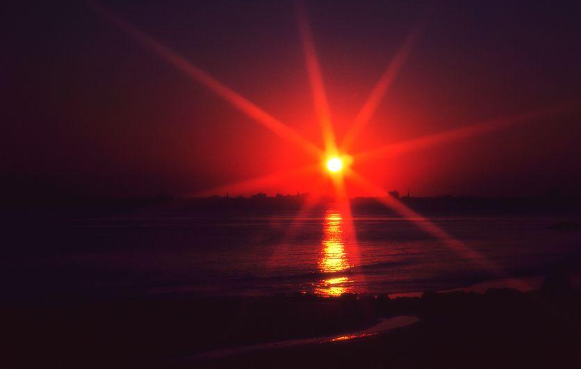 Sunset Starburst