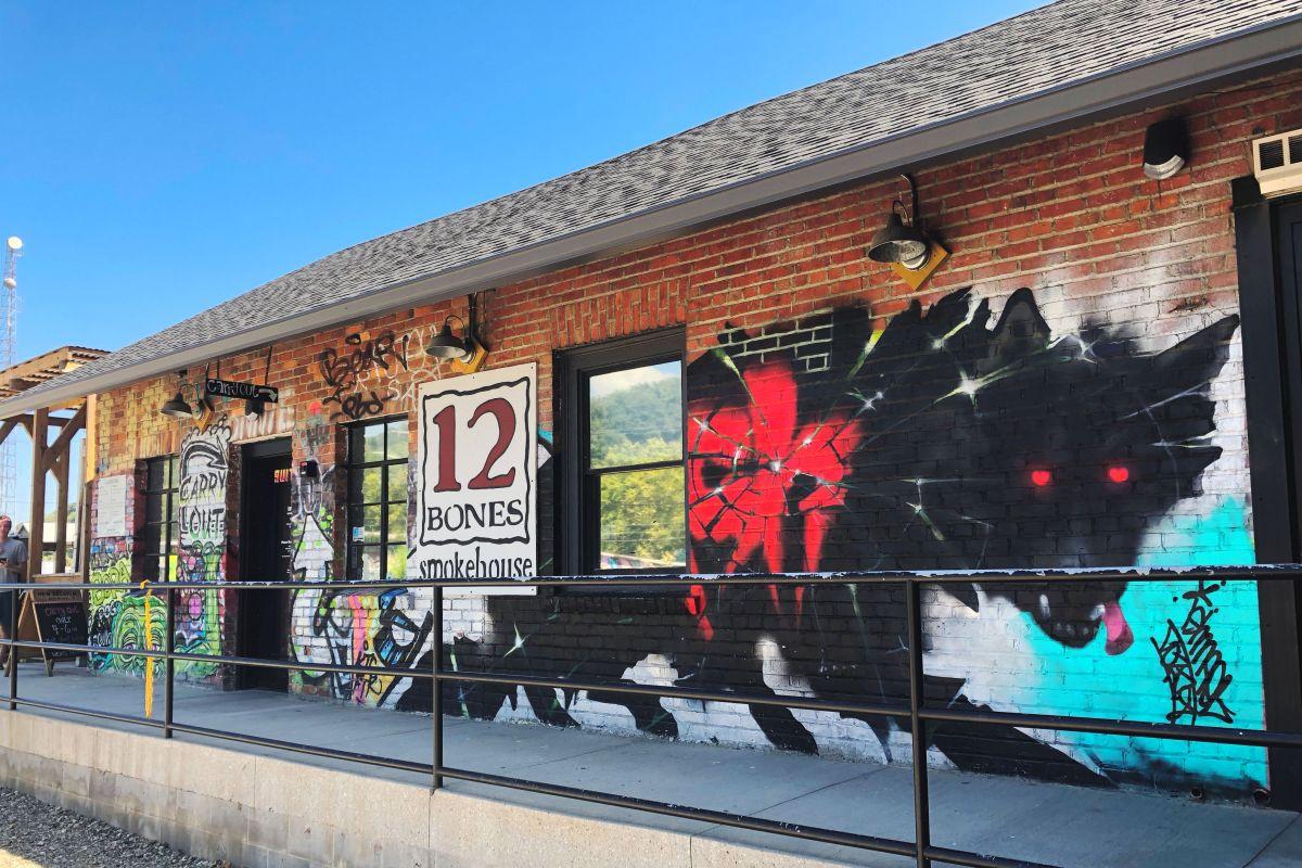 12 Bones Smokehouse, Asheville,NC