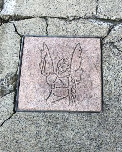 Asheville Sidewalk Angel