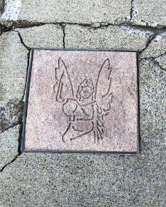 Asheville Sidewalk Angel