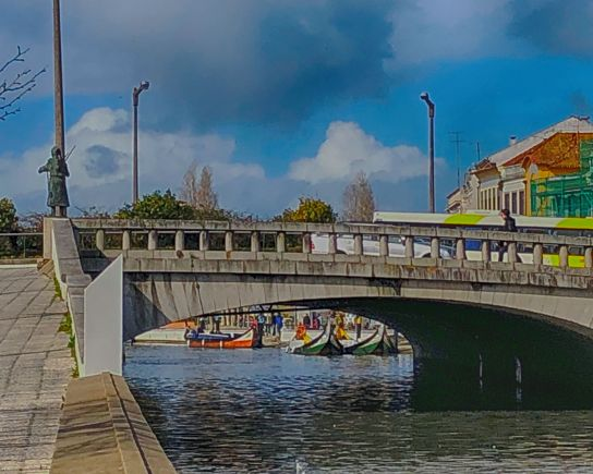 Aveiro Canal Bridge