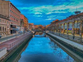 Aveiro Canal Evening