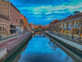 Aveiro Canal Evening