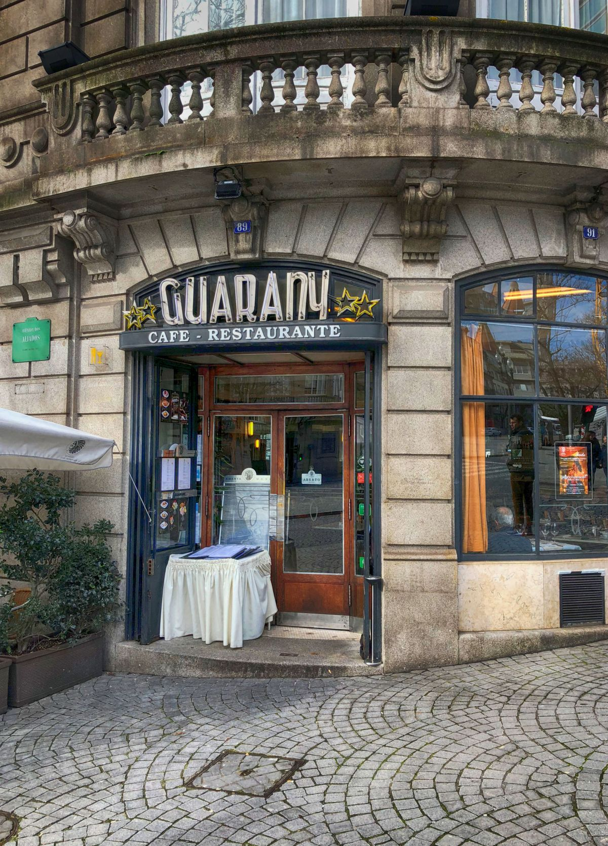 Café Guarany, Porto Portugal