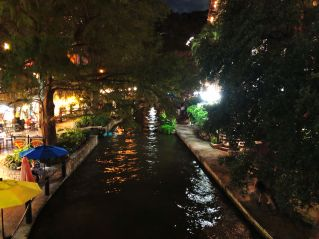SA River Walk Night