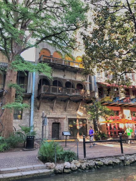 SA River Walk Old Building