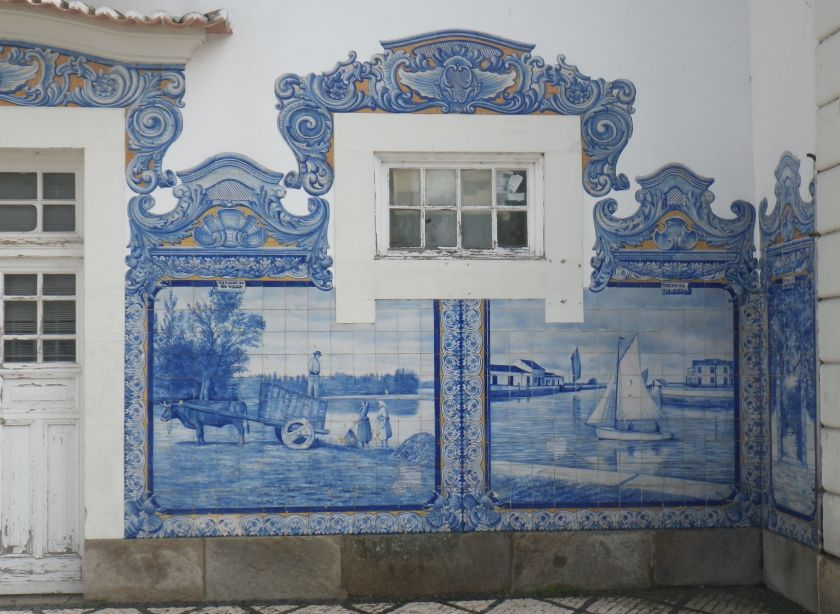 Aveiro Train Station Detail 2
