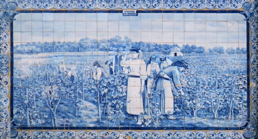 Station Azulejo Detail