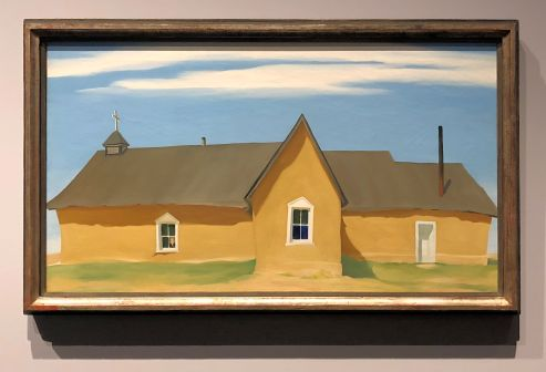 Georgia O'Keeffe- Cebolla Church- 1945