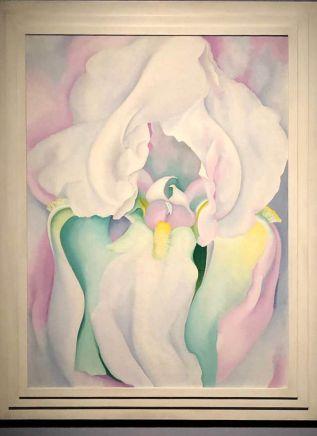 Georgia O'Keeffe- White Iris- 1930