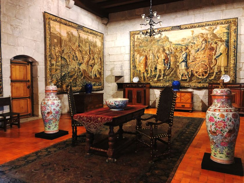Braganza Palace Interior
