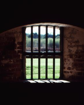 Fort Pulaski Window Kodachrome 64 scan from slide