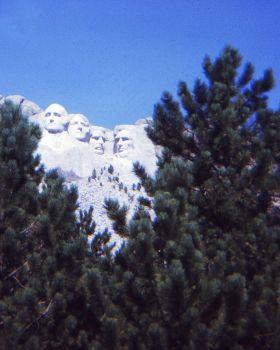 Mount Rushmore Ektachrome 100