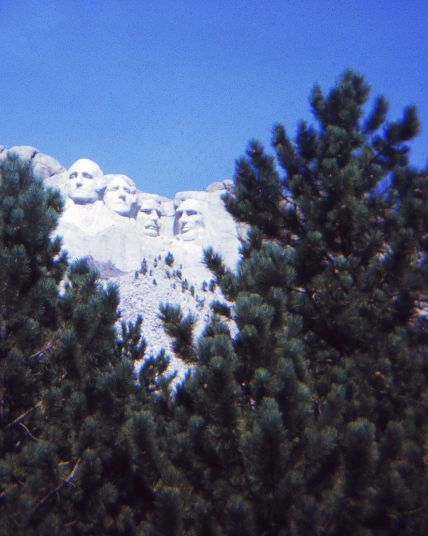 Mount Rushmore Ektachrome 100